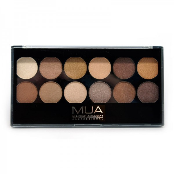 MUA 12 Shade Heaven And Earth Eyeshadow Palette