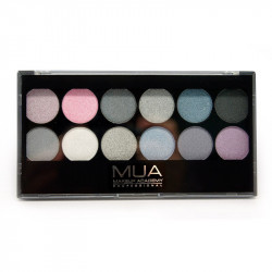 MUA 12 Shade Starry Night Eyeshadow Palette