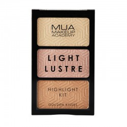 MUA Light Lustre Trio Highlight - Golden Kisses