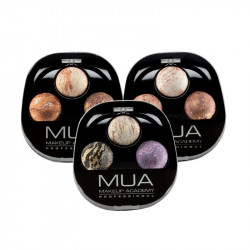 MUA Baked Merged Trio Eyeshadow Emotions