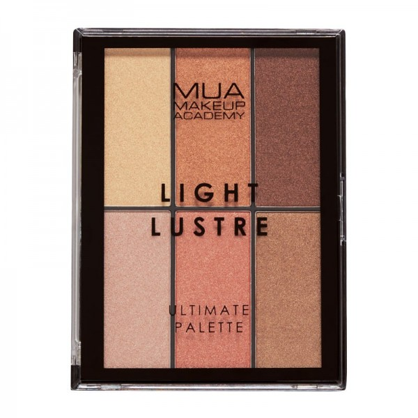 MUA Light Lustre Ultimate Palette Bronze, Blush, Highlight