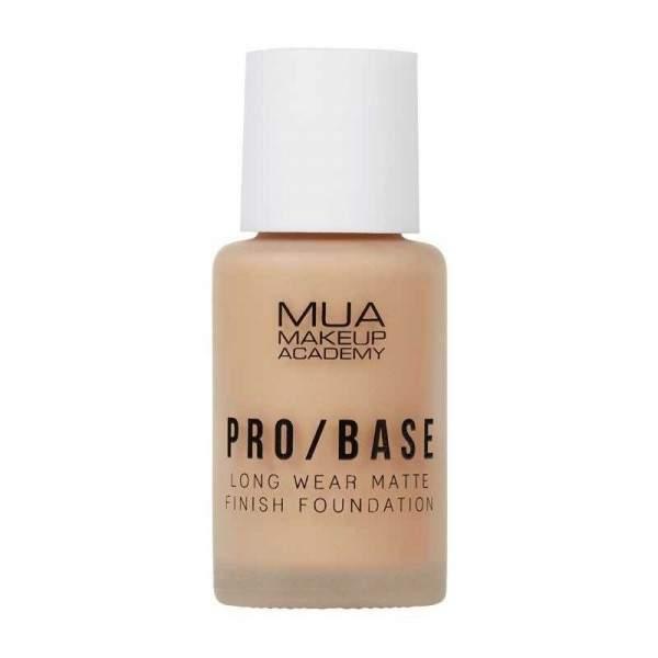 MUA PRO/BASE MATTE FINISH FOUNDATION - 154