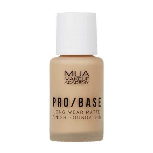 MUA PRO/BASE MATTE FINISH FOUNDATION - 142