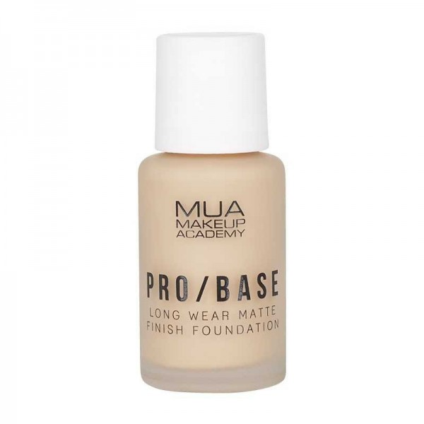MUA PRO/BASE MATTE FINISH FOUNDATION - 130