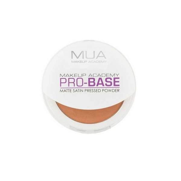 MUA Pro Matte Satin Pressed Powder - DEEP FAWN