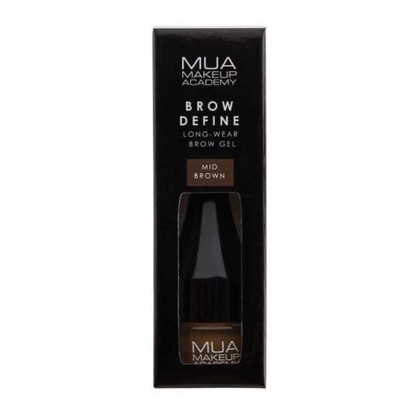 MUA Brow Define Sculpting Gel-MID BROWN