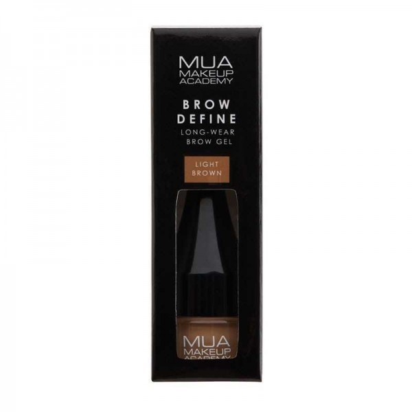 MUA Brow Define Sculpting Gel-LIGHT BROWN