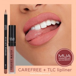 MUA lip combo CAREFREE & TLC