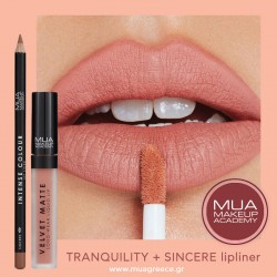 MUA lip combo TRANQUILITY & SINCERE