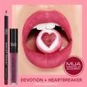 MUA lip combo DEVOTION & HEARTBREAKER