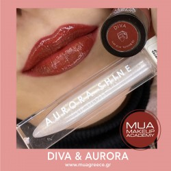 MUA lip set DIVA & AURORA