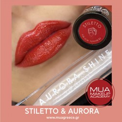 MUA lip set STILETTO & AURORA