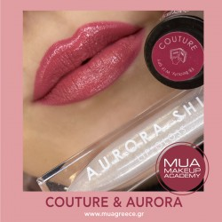 MUA lip set COUTURE & AURORA