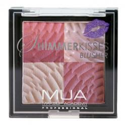 MUA Shimmer Kiss Blusher - Pink Shimmer Kisses