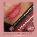 MUA LIPPIES SET SUGARED & LOVE LETTER