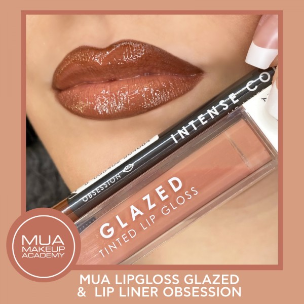 MUA LIPPIES SET GLAZED & OBSESSION