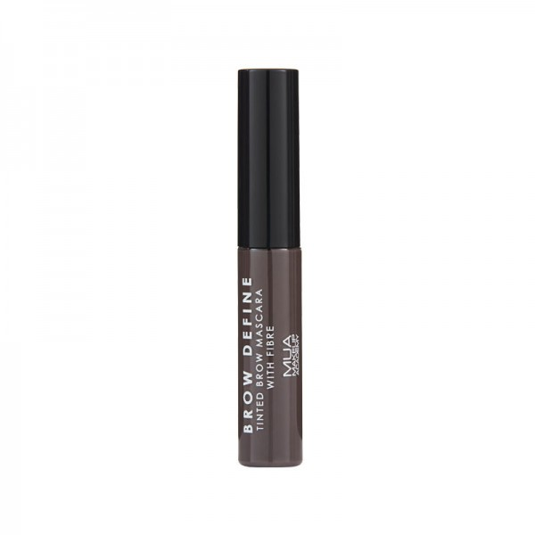 MUA Brow Define Tinted Mascara With Fibre - MID BROWN