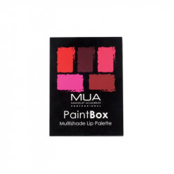MUA Paint Box Lip Palette Rose Rouge