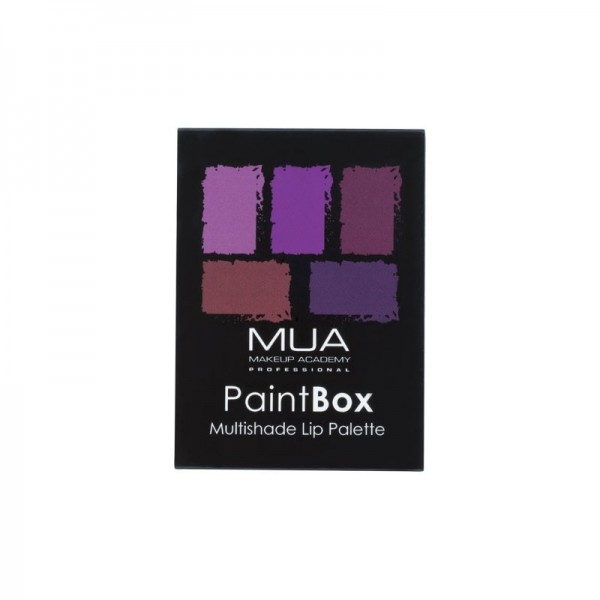 MUA Paint Box Lip Palette Imperial Plums
