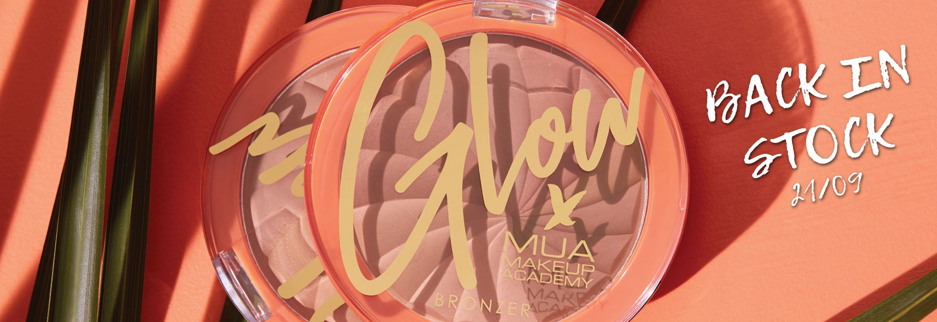 GLOW x MUA GOLDEN DUNES