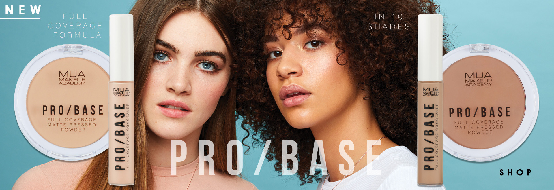NEW PRO/BASE POWDERS & CONCEALERS