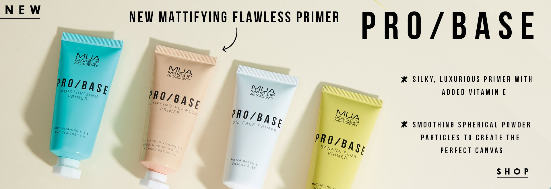 MUA PRO / BASE MATTIFYING FLAWLESS PRIMER