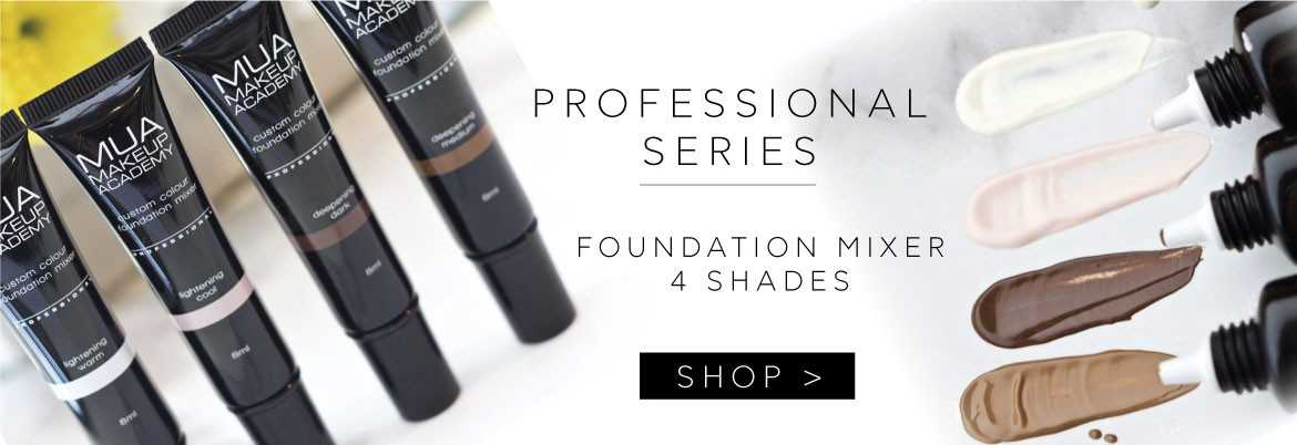 MUA Foundation Mixers