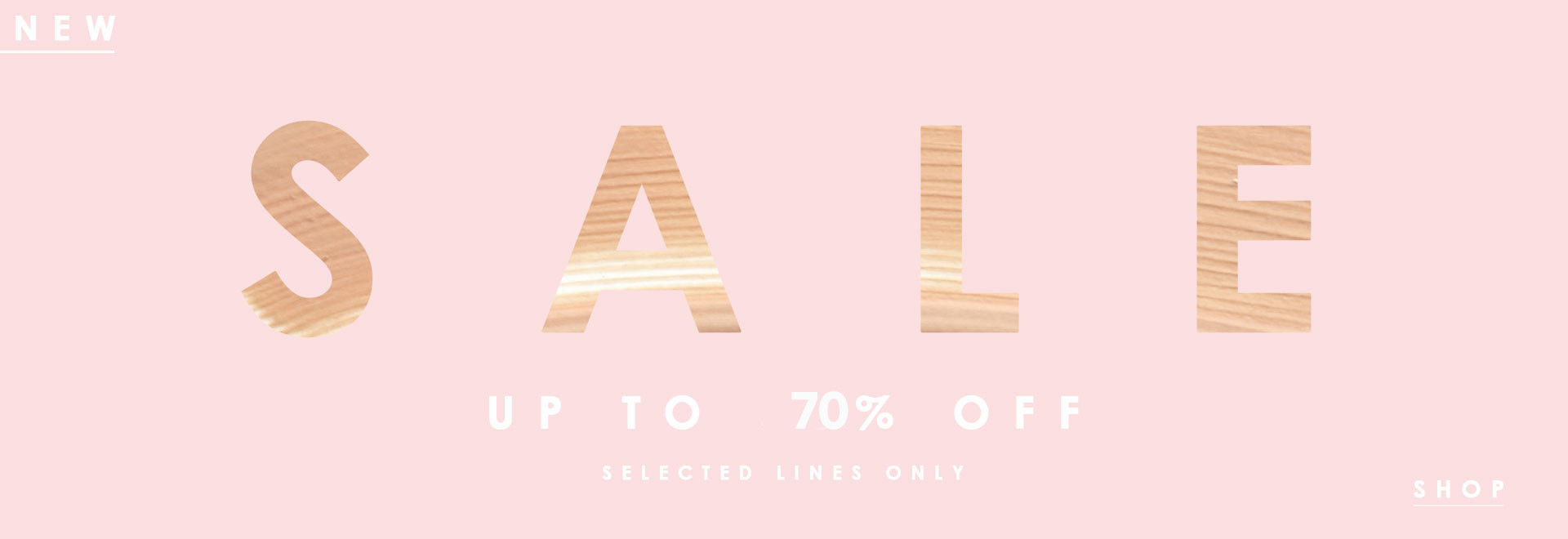 SALES ! up to 70%