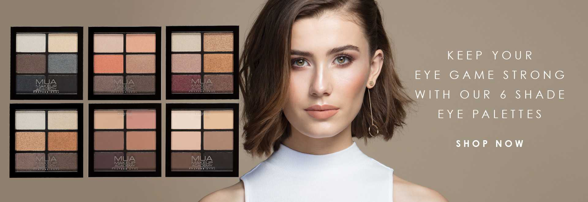 MUA Professional 6 Shade Eyeshadow Palette